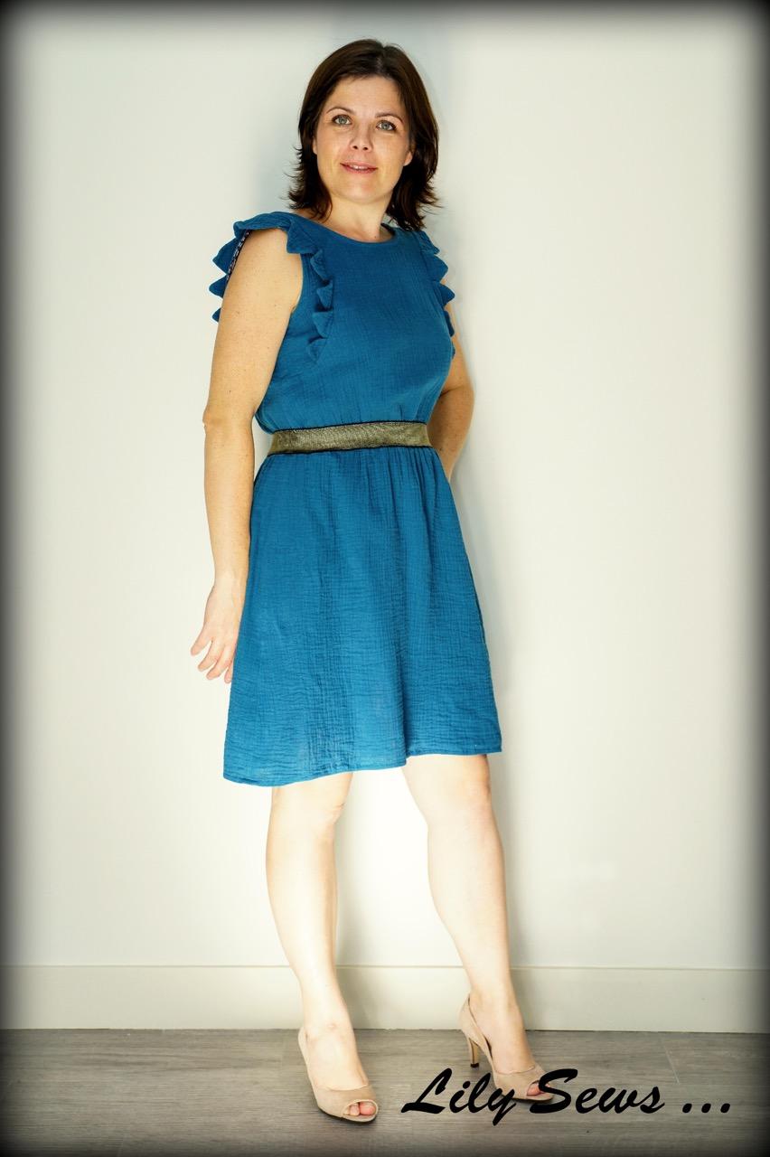 80f309bf7f6 Eh oui car cette robe je l ai déjà cousue pour ma fille